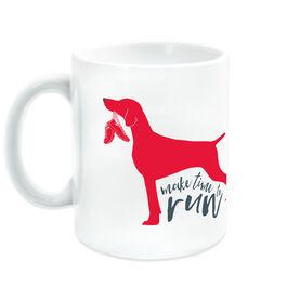Running Ceramic Mug Make Time To Run