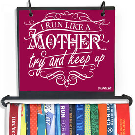 BibFOLIO Plus Race Bib and Medal Display - Like A Mother