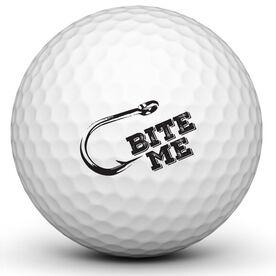 Bite Me Golf Ball