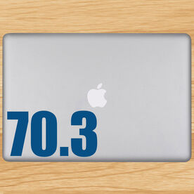 70.3 Removable TRIForeverGraphix Laptop Decal