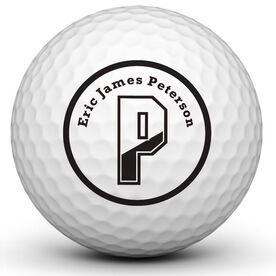 Initials Golf Ball