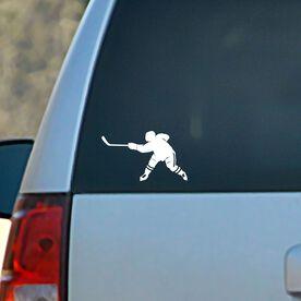 Vinyl Car Decal Hockey Slap Shot