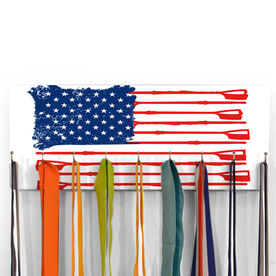 Crew Hooked on Medals Hanger - American Flag