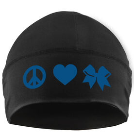 Beanie Performance Hat - Peace Love Cheer