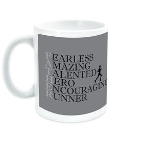 Running Ceramic Mug - Father Words