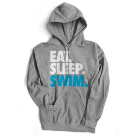Swimming Standard Sweatshirt Eat. Sleep. Swim.