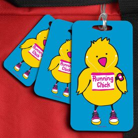 Running Bag/Luggage Tag Running Chick
