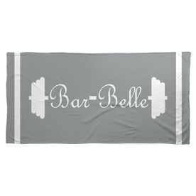 Cross Training Beach Towel Bar Belle