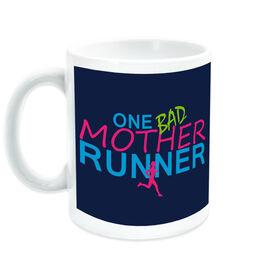 Running Ceramic Mug One Bad Mother Runner