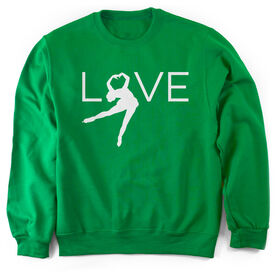 Figure Skating Crew Neck Sweatshirt - Love
