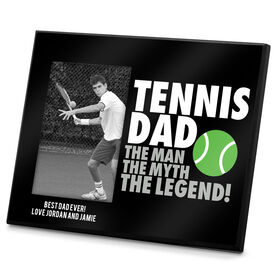 Tennis Photo Frame Tennis Dad Legend