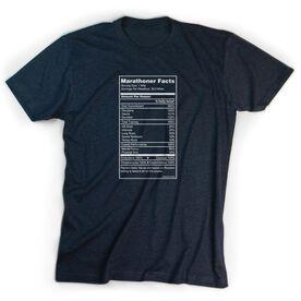 Running Short Sleeve T-Shirt - Marathoner Facts