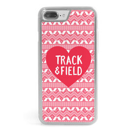 Track & Field iPhone® Case - Heart Track and Field