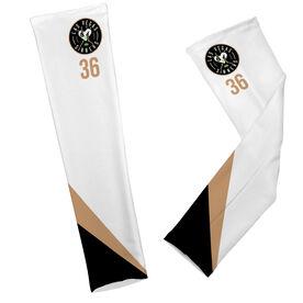 Arm Sleeves - Las Vegas Sinners Logo with Stripes