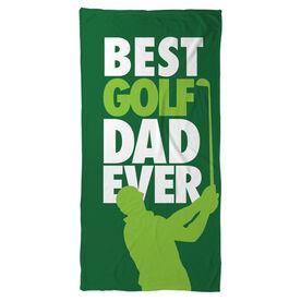 Golf Beach Towel Best Dad Ever
