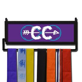 RunnersWALL Cross Country Infinity Medal Display