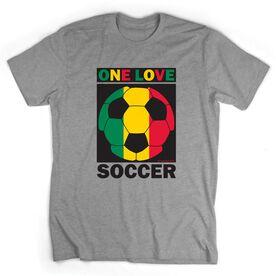 Soccer Tshirt Short Sleeve One Love Soccer