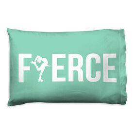 Figure Skating Pillowcase - Fierce