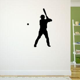 Batters Up Baseball Removable ChalkTalkGraphix Wall Decal