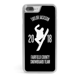 Snowboarding iPhone® Case - Personalized Team