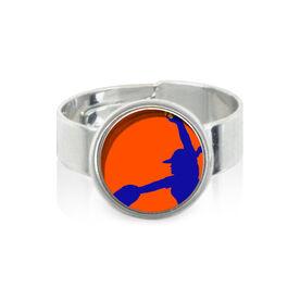 Softball Pitcher SportSNAPS Ring