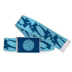 Volleyball Lifestyle Belt Girl Player Pattern