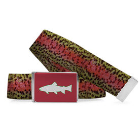 Fly Fishing Lifestyle Belt Rainbow Trout