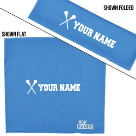 RokBAND Multi-Functional Headband - Personalized Name Girls Lacrosse Sticks