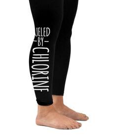 Swim Leggings Fueled By Chlorine