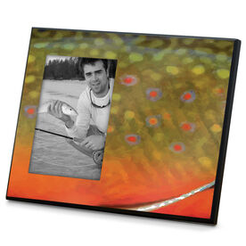 Fly Fishing Photo Frame Brook Trout Without Label