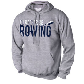 Crew Standard Sweatshirt I'd Rather Be Rowing
