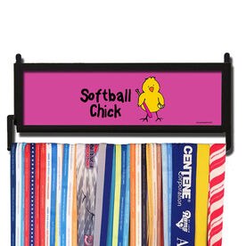 AthletesWALL Softball Chick Medal Display