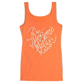 Women's Athletic Tank Top - One Awesome Mother Runner