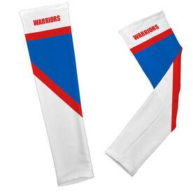 Cheerleading Printed Arm Sleeves Cheer Team Colors