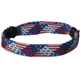 Sport Lace Bracelet Patriotic Adjustable Lace Bracelet