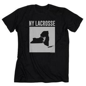Guys Lacrosse Short Sleeve T-Shirt - New York Lacrosse