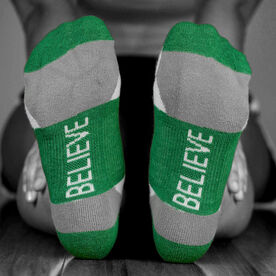 Socrates™ Woven Performance Socks Never Never Give Up