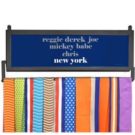 AthletesWALL Medal Display - Personalized New York Mantra