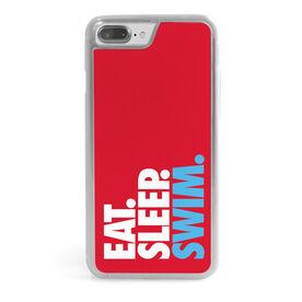 Swimming iPhone® Case - Eat. Sleep. Swim.