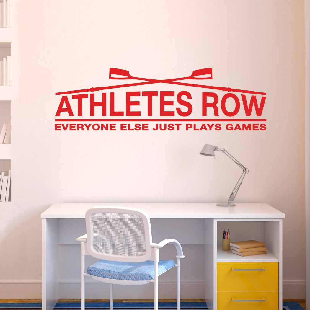 Superb ... Beautiful Life Size Athlete Wall Stickers Part 25
