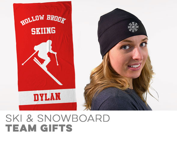 Skiing and Snowboarding Team Gifts