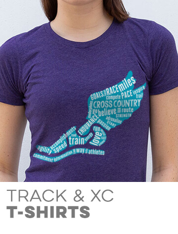Track & Cross Country T-Shirts