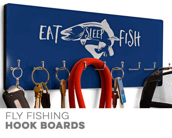 Fly Fishing Hooked on Boards