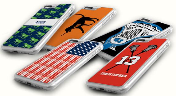 Guys Lacrosse iPhone Cases
