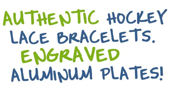 Hockey Lace Bracelets