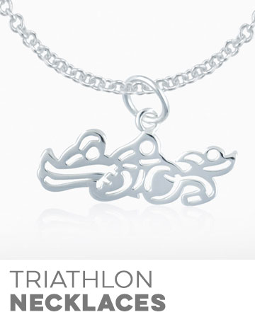 Triathlon Necklaces