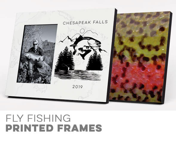 Fly Fishing Printed Frames