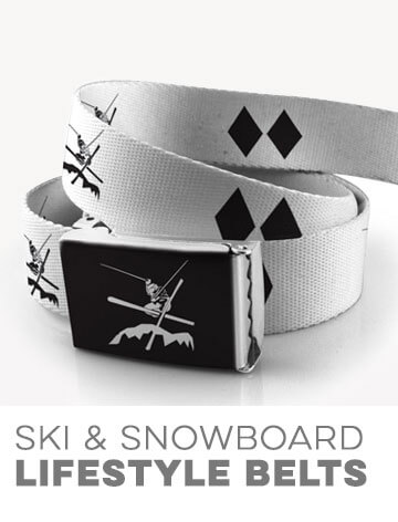 Ski & Snowboarding Lifestyle Belts