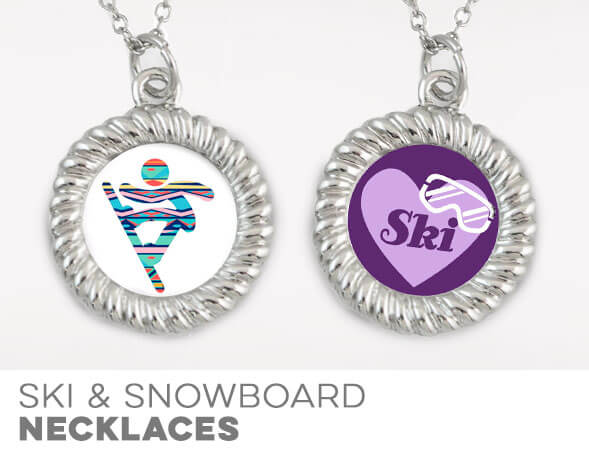 Skiing & Snowboarding Necklaces