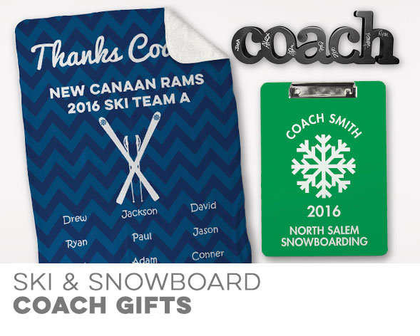 Skiing and Snowboarding Coach Gifts